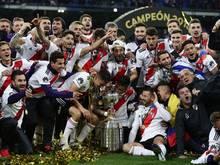 Die Spieler vonRiver Plate wollen nach dem Erfolg im Copa Libertadores auch ins Finale der Klub-WM einziehen