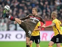 Henk Veerman vom FC St. Pauli hat sich einen Kreuzbandriss zugezogen