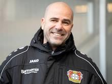 Peter Bosz will Bayer Leverkusen wieder in der Spitzengruppe der Bundesliga etablieren
