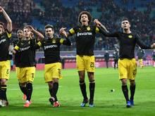 Borussia Dortmund hat den Vorsprung auf Bayern München wieder auf sechs Punkte ausgebaut