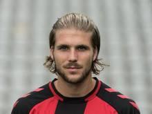 Philipp Zulechner hat beim FC Erzgebirge Aue einen Vertrag bis zum Saisonende erhalten