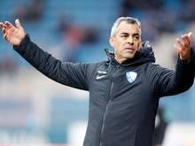 Bochums Trainer Robin Dutt kritisiert die Schnelllebigkeit im Fußball