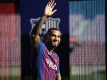 """Nach seinem Wechsel zum FC Barcelona """"entschädigte"""" Kevin-Prince Boateng einen Fan"""
