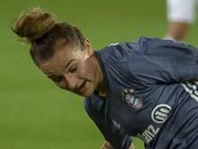 Lina Magull traf für den FC Bayern gegen den 1. FFC Frankfurt