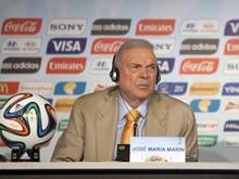 Lebenslang für alle Fußball-Aktivitäten gesperrt: José Maria Marin