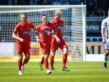 1. FC Heidenheim schießt FC St. Pauli ab