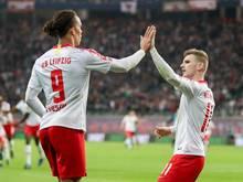 Leipzigs Yussuf Poulsen hofft noch auf einen Verbleib von Timo Werner