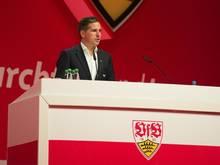 Erleichtert nach Erteilung der Lizenz: VfB-Finanzvorstand Stefan Heim