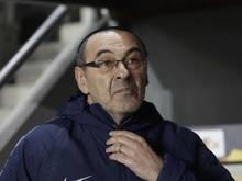 Wurde wegen Undiszipliniertheiten zu einer Geldstrafe verurteilt: Chelseas Trainer Maurizio Sarri