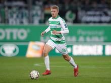 Fällt mit einem Mittelfußbruch für Greuther Fürth aus: Sebastian Ernst