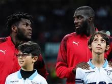 Tiemoué Bakayoko und Franck Kessié vom AC Mailand wurden von Lazio-Fans rassistisch beleidigt