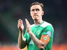 Ob Werder-Star Max Kruse gegen Leipzig spielen kann, steht noch nicht fest
