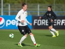 Simone Laudehr wird nicht mehr für die Frauen-Nationalmannschaft spielen