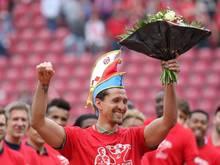 Keeper René Adler wurde beim Mainzer Heimspiel gegen Hoffenheim verabschiedet