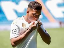 Für Real Madrid gleich Feuer und Flamme: Rodrygo Silva de Goes