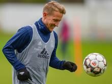 Hält sich in der Regionalliga bei Rot-Weiss Essen fit: Lewis Holtby