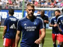 Mann mit klarer Meinung: HSV-Kapitän Aaron Hunt