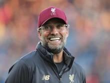 Jürgen Klopp und der FC Liverpool gehen als Favoriten in den Super Cup
