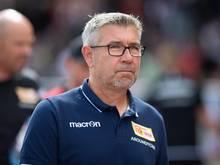 Berlins Trainer Urs Fischer will seiner Mannschaft den Druck nehmen
