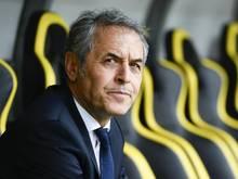 Marcel Koller konnte seinen FC Basel nicht an der Seitenlinie betreuen