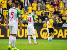 Der FC Augsburg schied in der ersten DFB-Pokalrunde aus und kam beim BVB unter die Räder