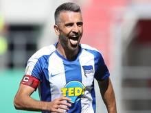 Bereits seit vielen Jahren in der Bundesliga aktiv: Hertha-Kapitän Vedad Ibisevic