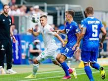 Musste mit Werder auch in Hoffenheim eine Pleite hinnehmen: Maximilian Eggestein