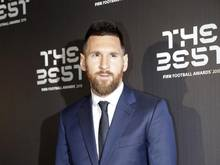 Wurde zum sechsten Mal Weltfußballer des Jahres: Lionel Messi vom FCBarcelona