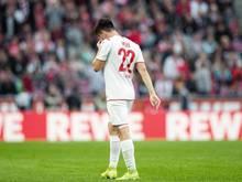 Sah in der Partie gegen Hertha BSC die Rote Karte: Kölns Jorge Meré