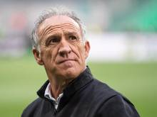 Musste einen Tag nach dem 1:1 gegen den VfL Wolfsburg gehen: St. Etiennes Trainer Ghislain Printant