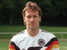 Gunnar Sauer stand im deutschen Aufgebot für die EM 1988
