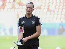 Würde sich über eine Frauen-Mannschaft bei Borussia Dortmund freuen:DFB-Keeperin Almuth Schult