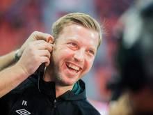 Über den Trainer gibt es bei Werder Bremen keine Diskussion: Florian Kohfeldt