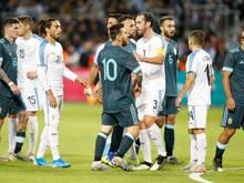 Lionel Messi trifft für Argentinien gegen Uruguay