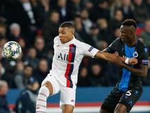 PSG-Star Kylian Mbappé (l) lern von seinem deutschen Coach offenbar nur Schimpfwörter