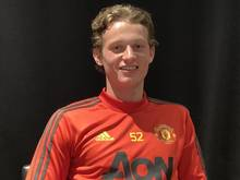 Max Taylor ist im Kader von Manchester United. Foto: Simon Peach/PA Wire/dpa