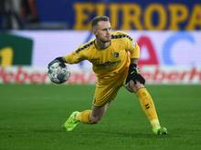 Mark Flekken wird im Spiel der Freiburger gegen den VfL Wolfsburg erneut für Stammkeeper Schwolow einspringen. Foto: Patrick Seeger/dpa