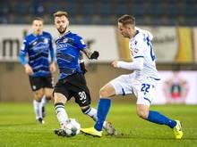 Arminia Bielefeld sicherte sich in einer turbulenten Nachspielzeit einen wichtigen Punkt und die Herbstmeisterschaft