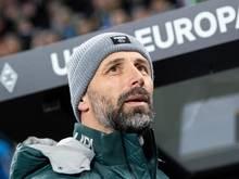 Muss mit Gladbach das Europacup-Aus verdauen: Marco Rose