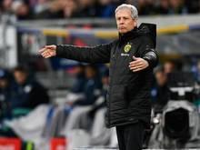 Lucien Favre war nach der Niederlage gegen Hoffenheim angefressen