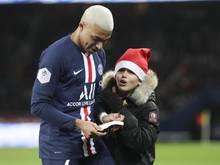 Machte einem kleinen Fan eine große Freude: PSG-Star Kylian Mbappé