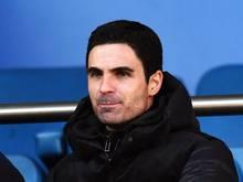 Mikel Arteta übernahm das Cheftraineramt beim FCArsenal