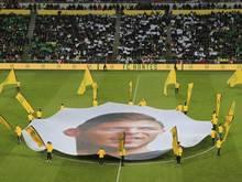 Die Fans des FC Nantes gedenken Emiliano Sala