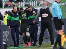 Wolfsburgs William wird verletzt vom Platz gebracht