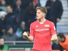 Marius Bülter erzielte beide Tore beim 2:0-Sieg von Union Berlin bei Werder Bremen