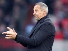 Adi Hütter glaubt an 50:50-Chance für Eintracht Frankfurt