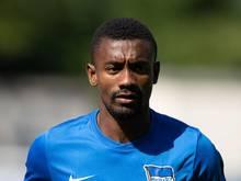 Darf wieder mit den Hertha-Profis trainieren: Salomon Kalou