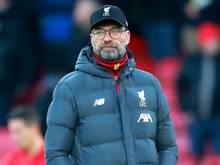 Trainer Jürgen Klopp blamierte sich mit dem FC Liverpool. Foto: Adam Davy/PA Wire/dpa