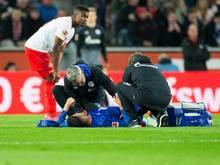 Verletzt: Für Schalkes Ozan Kabak war das Gastspiel in Köln früh beendet