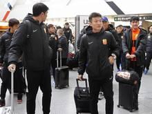 Wuhan Zall reist zurück nach China